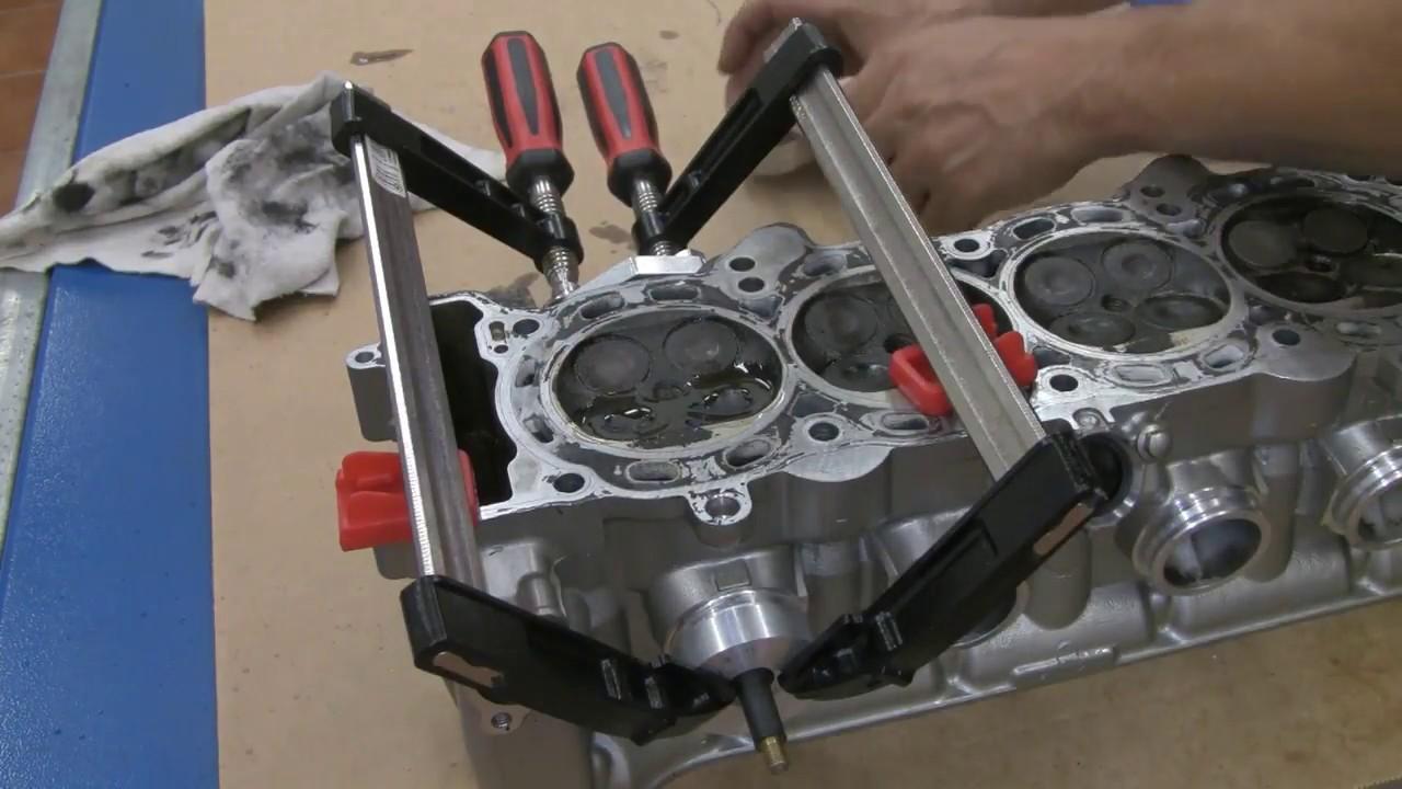 CBF1000 Motor -- Teil 03 -- Wie dicht sind die Ventile? - YouTube