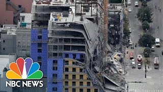 Watch live: Collapsed Hard Rock Hotel is demolished in New Orleans