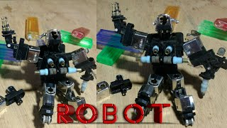 1# Cara Membuat Robot Dari Korek Gas Bagian Pertama