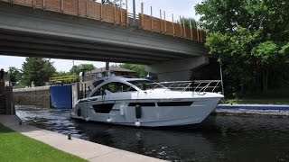 Cruisers  Yachts Cantius 54 Delivery with Andy Adams and Canadian Yachting Magazine
