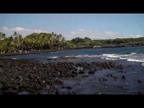 Black Sand Beach (Punalu