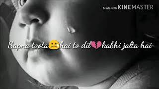 Munna Bhai MBBS songs Sapna toota hai sad song WhatsApp status by My Whatsapp status