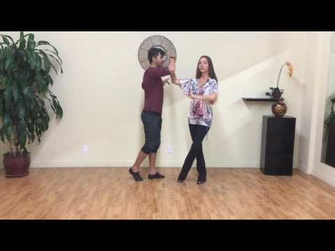 Salsa Dance Spins Techniques Lesson #4: Butterfly into double turns