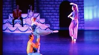 Ballet Arts Arabian Dance With Rob Beebe and Melody DeMoulin in 2015 Nutcracker