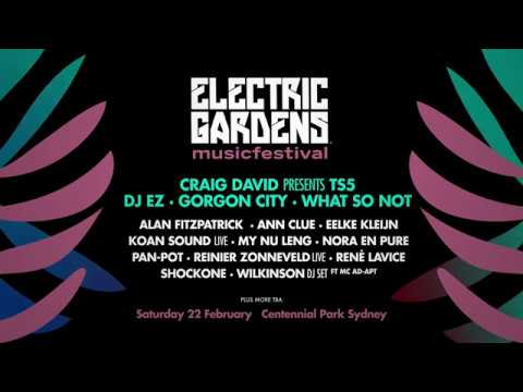 Electric Gardens Festival 2020 - Phase #1 Line-up