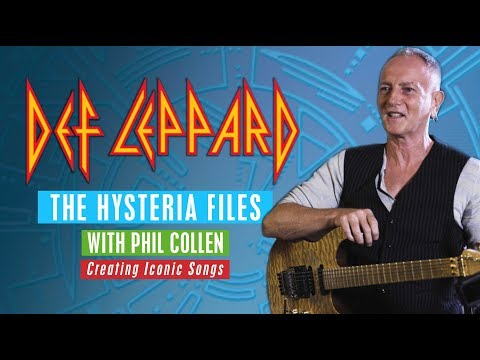 DEF LEPPARD  The Hysteria Files with Phil Collen 1 of 6