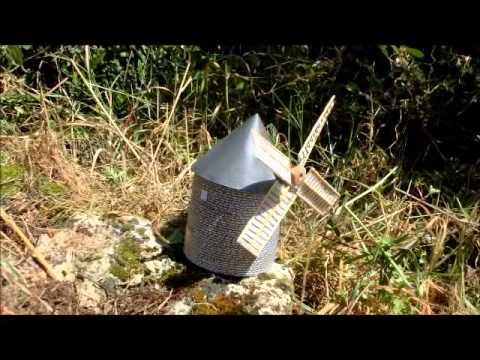 Le moulin vent youtube for Bricolage moulin a vent en bois