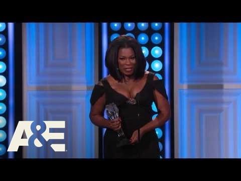 Lorraine Toussaint Wins Best Supporting Actress: Drama Series  2015 Critics' Choice TV Awards  A&E