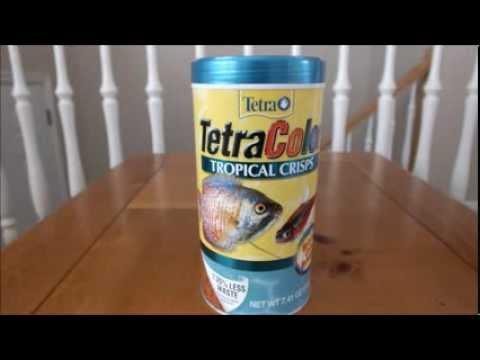 Tetra Color Tropical Crisps Fish Food - Review
