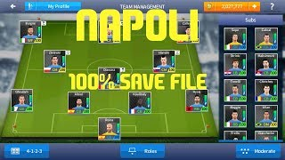 Dream League Soccer 2017 - NAPOLI 100 All Players Save File