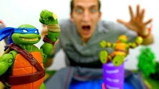 Черепашки Ниндзя и подарок от Шредера! Игры для мальчиков.