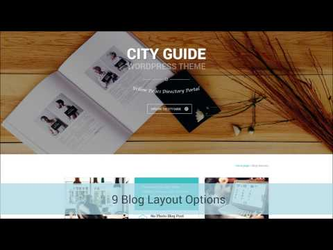 City Guide Multi-Purpose Business PSD Template Presentation