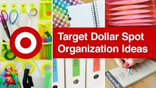 DIY Organization Ideas from Target Dollar Spot | Sea Lemon