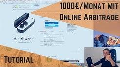 Wie du PRODUKTE TEURER WEITERVERKAUFST und damit TAUSENDE EURO verdienst - Online Arbitrage Tutorial