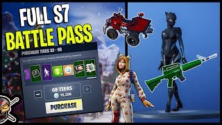 Fortnite Season 7 *TIER 100* WE BOUGHT EVERYTHING!!
