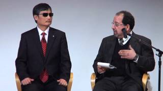 2013 | Chen Guangcheng, Future of the Rule of Law and Human Rights in China | The New School