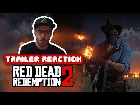 REACCIÓN: Red Dead Redemption 2 - Trailer Gameplay Oficial