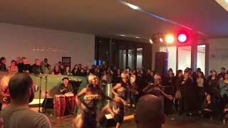 Esoke Cultural Arts dancers performing traditional African dances tonight @ The Nelson Atkins