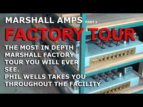 Unique Marshall Factory Tour as you have NEVER seen it before - tonymckenzie.com