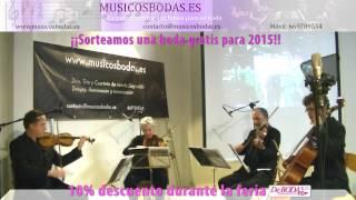 Música bodas Valladolid.Hey Jude . www.musicosbodas.es/valladolid.html
