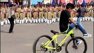Cycle Stunt at Puri 2018 Republic Day