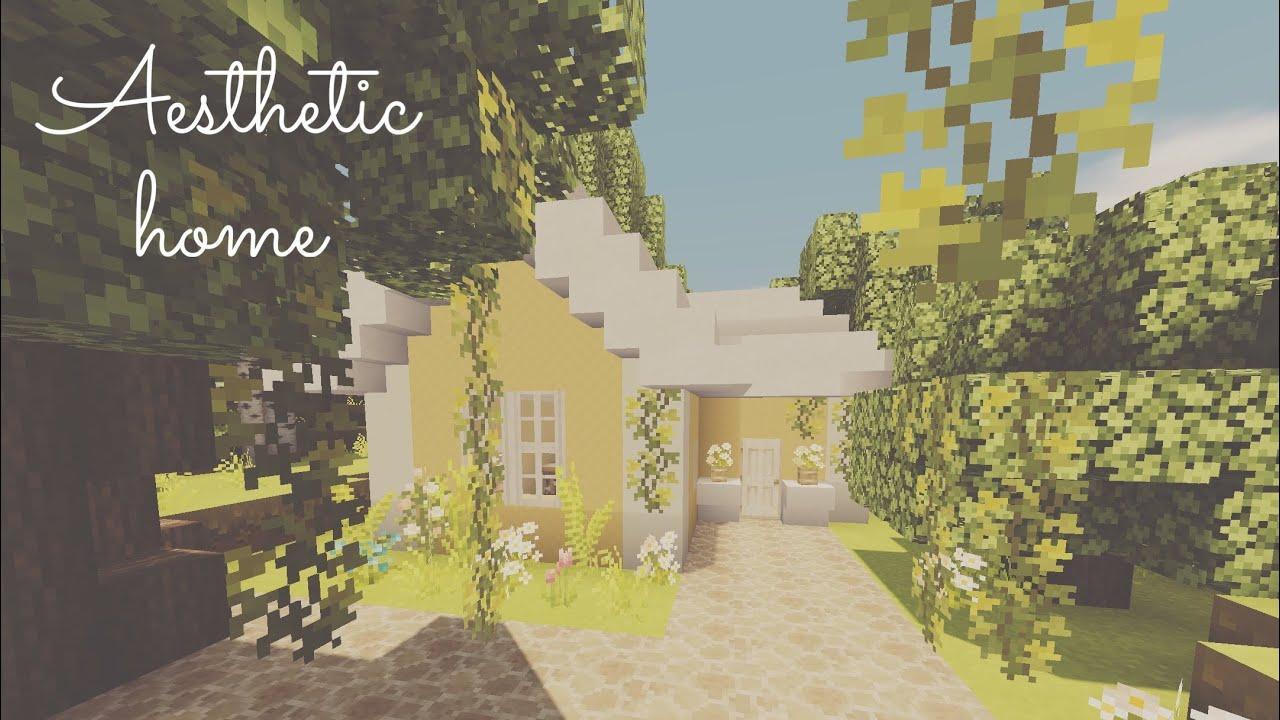 Minecraft 'tutorial' of easy aesthetic home   tutorials ...