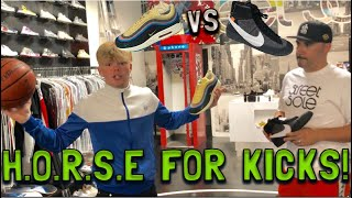 Game of H.O.R.S.E for KICKS!!