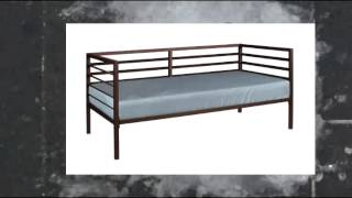Kings Brand Bronze Finish Metal Annabella Collection Twin Size Day Bed (daybed)