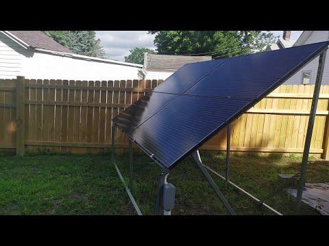 July Update - Solar Panels \u0026 Mining Rigs