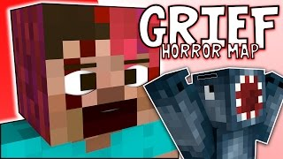Minecraft - GRIEF Horror Map - GIRLY SCREAMS!