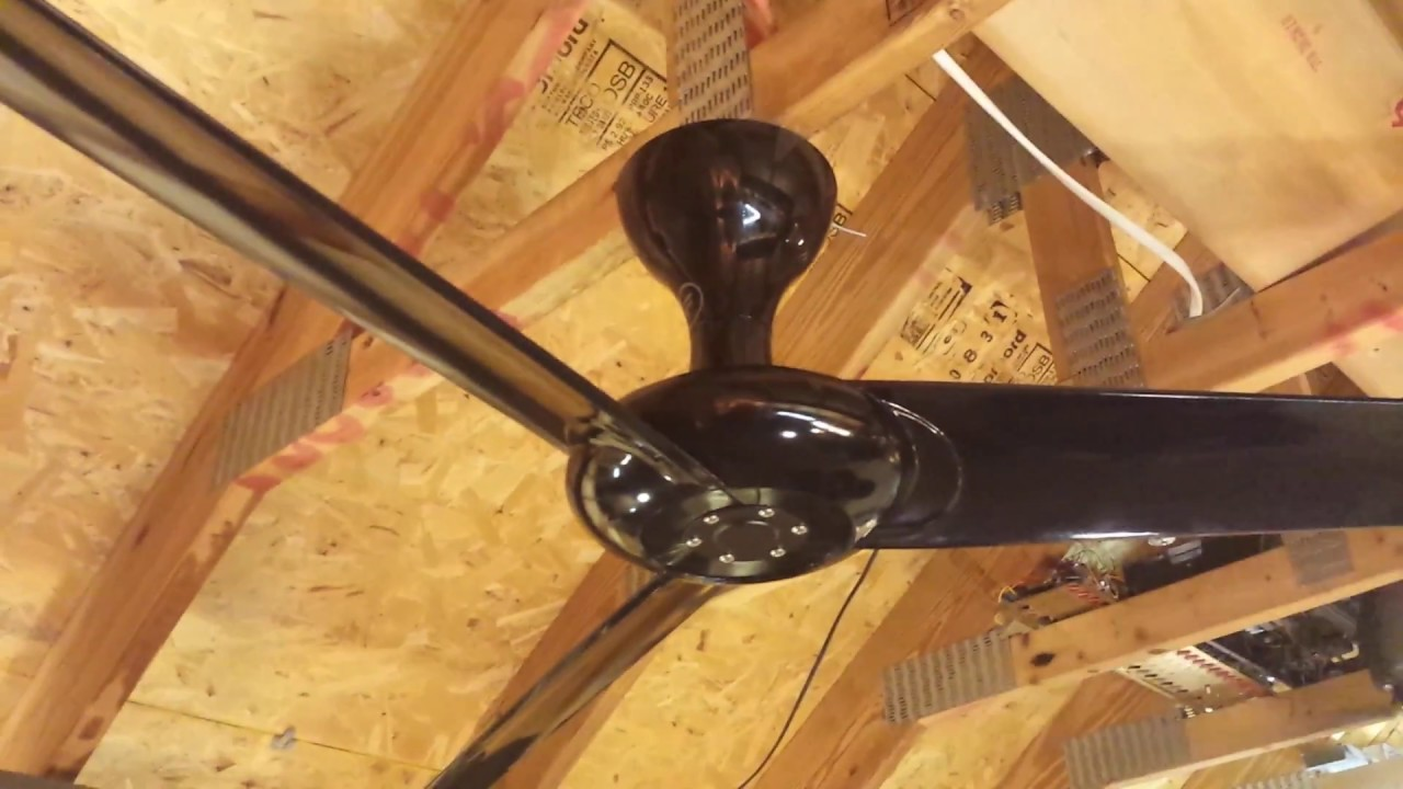 Magnetic Ceiling Fan : Fanimation drone ceiling fan magnetic cap installation