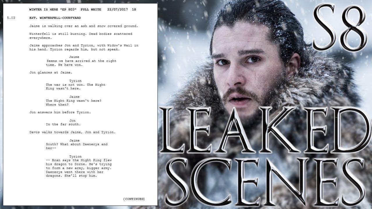 Leak Game Of Thrones