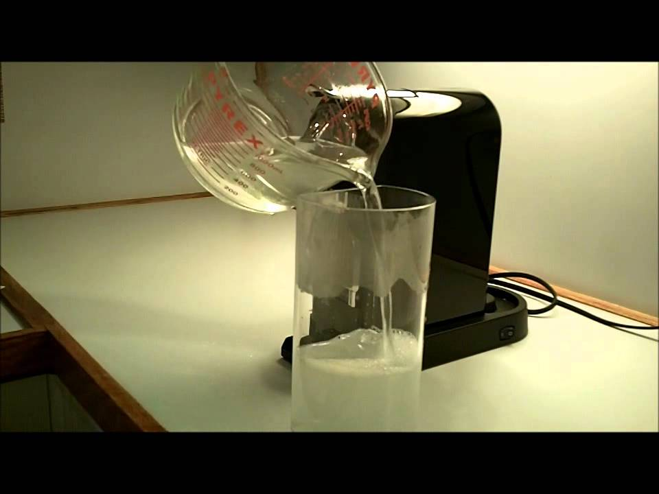 Descaling A Nespresso Coffee Machine - YouTube