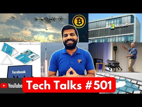 Tech Talks #501 - Facebook Crypto, Mars Helicopter, Motorola Folding Phone, Trustworthy AI, Falcon 9