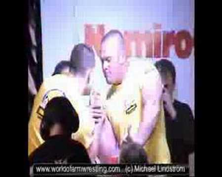 Travis Bagent VS Matt Girdner - World of Armwrestling.com