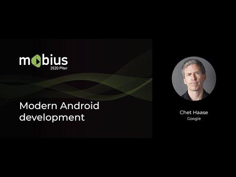 Chet Haase — Modern Android development