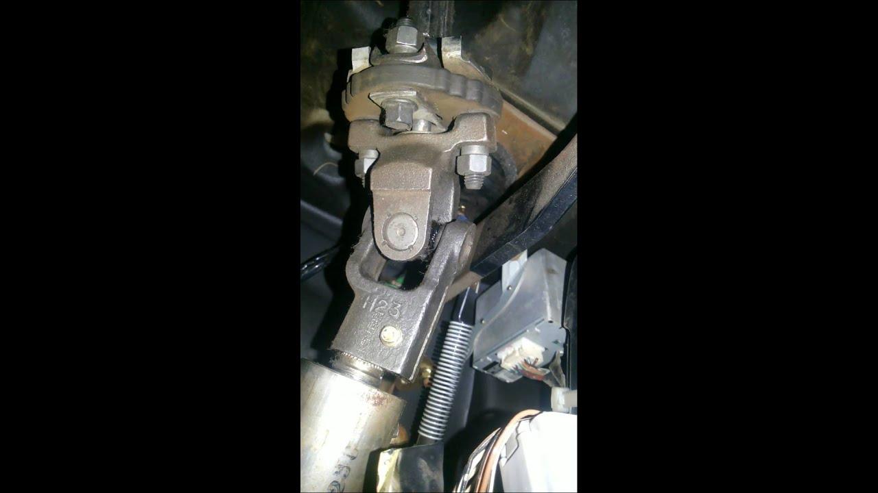 Toyota kamri стук в рулевой