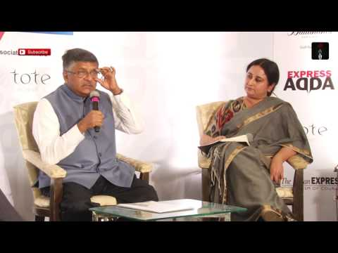 Ravi Shankar Prasad At Express Adda: PM Has Described Himself As Pradhan Sevak