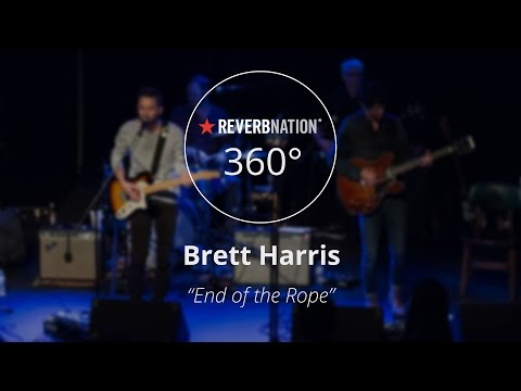 "Brett Harris #360Video - ""End of the Rope"" Live at the Cat's Cradle Backroom"