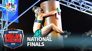 Jessie Graff at the National Finals: Stage 1 - American Ninja Warrior 2016 by : American Ninja Warrior