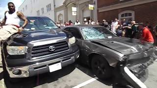 ‼️🚨🚨Car Plows Through a crowd of protesters in Charlottesville 🚨🚨‼️