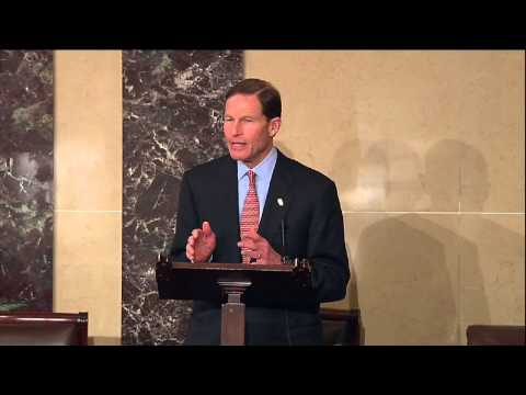 Senator Blumenthal speaks about Senator Lieberman on the Senate floor