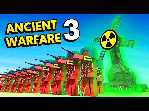 NUCLEAR POWER PLANT IN ANCIENT WARFARE 3 (Ancient Warfare 3 Funny Gameplay)