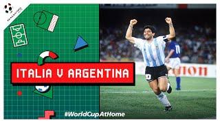 ESPAÑOL Italia v Argentina Resumen Versión Extendida Copa Mundial 1990