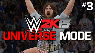 "WWE 2K15 Universe Mode - Ep. 3 - ""INTERFERENCE!"""