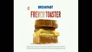TV Commercial - Sonic Breakfast French Toaster - Doesn't Make Sense - This Is How You Sonic