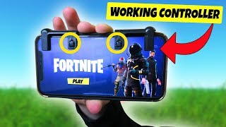 Fortnite MOBILE Working CONTROLLER RELEASED for ANDROID and iOS! (Mobile Claw)