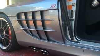 "Mercedes Benz McLaren SLR 722 ""QUICK SILVER"" Exhaust Sound by OFFICE-K TOKYO"