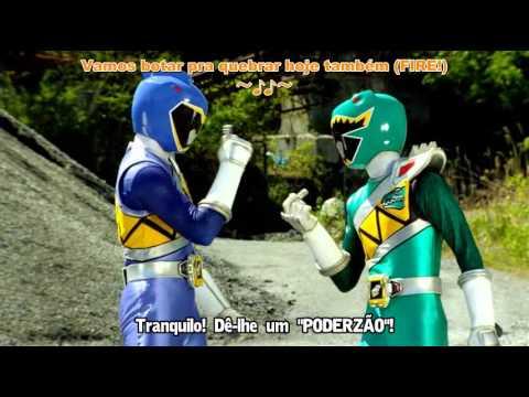 Zyuden Sentai Kyoryuger The Movie   Gaburincho of Music  legendado em portugues