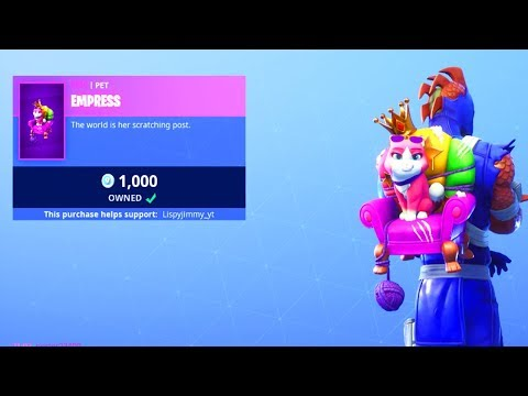 The New CAT PET In Fortnite..